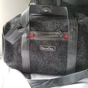Oscar de la Renta Bags - Oscar De La Renta 3pcs luggage gray Tweed